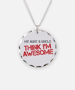 Aunt and Uncle Awesome Necklace
