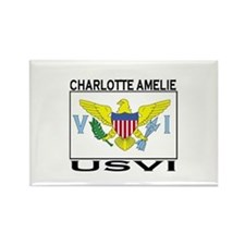 Charlotte Amelie, US Virgin I Rectangle Magnet