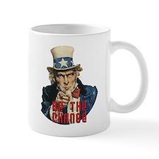 Be the Change! - Uncle Sam Mug