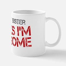 Baby Sister Awesome Mug