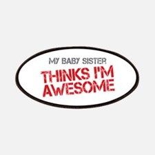 Baby Sister Awesome Patches