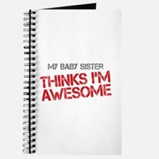 Baby Sister Awesome Journal
