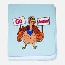 Go Vegan! baby blanket