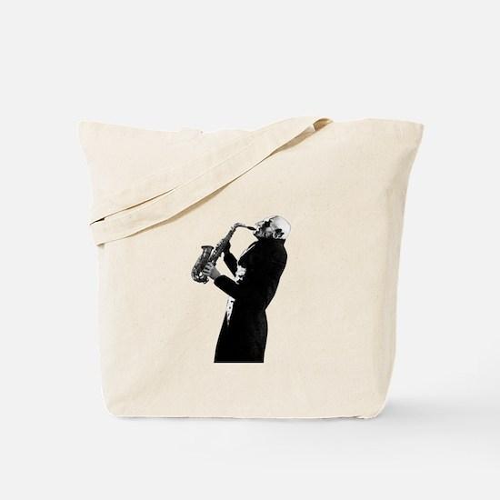 Sax Schreck Tote Bag