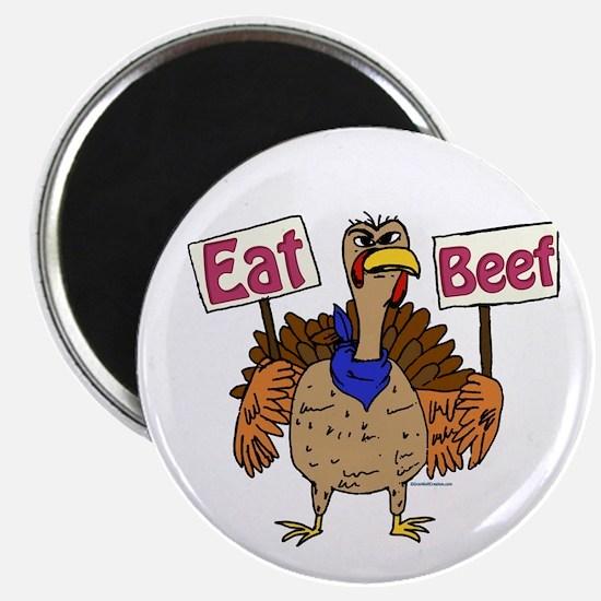 "Eat Beef! 2.25"" Magnet (10 pack)"