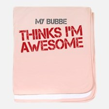 Bubbe Awesome baby blanket