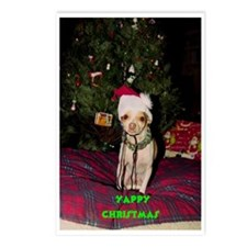 Yappy Christmas Postcards (Package Of 8)