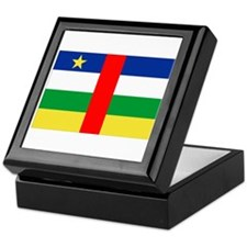 Cute Central african republic Keepsake Box