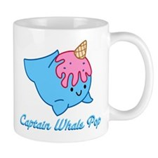 Captain Whale Pop Mugs