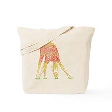 Filigree Giraffe Tote Bag