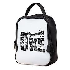Uke Ukulele Neoprene Lunch Bag