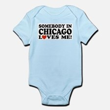 Somebody in Chicago Loves Me Infant Bodysuit