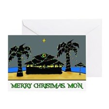 Island Christmas Greeting Cards