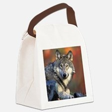 Wolf Wolves Lovers Canvas Lunch Bag