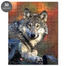 Wolf Wolves Lovers Puzzle