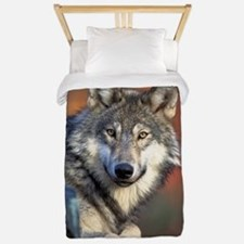 Wolf Wolves Lovers Twin Duvet