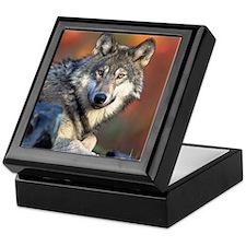 Wolf Wolves Lovers Keepsake Box