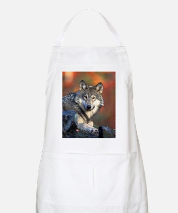 Wolf Wolves Lovers Apron