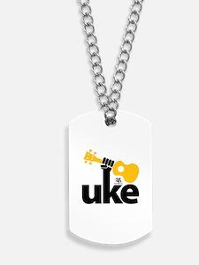 Uke Fist Dog Tags