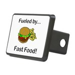 Fueled by Fast Food Rectangular Hitch Cover