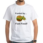 Fueled by Fast Food White T-Shirt