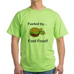 Fueled by Fast Food Green T-Shirt