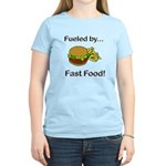 Fueled by Fast Food Women's Light T-Shirt