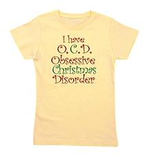 OCD - Obsessive Christmas Disorder Girl's Tee
