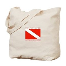 Dive Cayman Islands Tote Bag