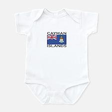 Cayman Islands Flag Infant Bodysuit