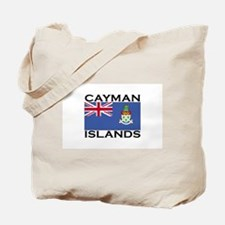 Cayman Islands Flag Tote Bag