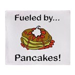 Fueled by Pancakes Throw Blanket