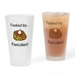 Fueled by Pancakes Drinking Glass