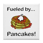 Fueled by Pancakes Tile Coaster