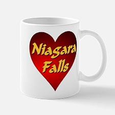 Niagara Falls Heart Mugs