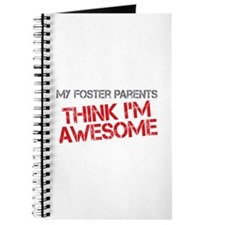 Foster Parents Awesome Journal