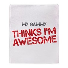 Gammy Awesome Throw Blanket