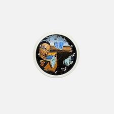 Dali! on Vinyl Mini Button