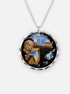 Dali! on Vinyl Necklace