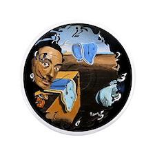 "Dali! on Vinyl 3.5"" Button"