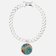 Beautiful Blue Rose Bracelet