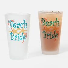 Beach Bride Drinking Glass