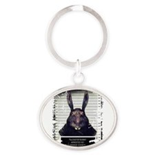 Evil Easter Bunny Rabbit SOLO Keychains