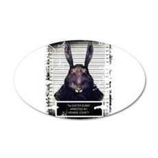 Evil Easter Bunny Rabbit SOLO Wall Decal