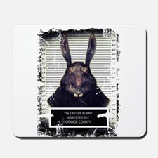Evil Easter Bunny Rabbit SOLO Mousepad