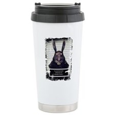 Evil Easter Bunny Rabbit SOLO Travel Mug