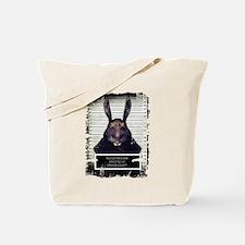 Evil Easter Bunny Rabbit SOLO Tote Bag