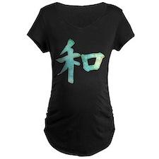 Kanji - harmony Maternity T-Shirt