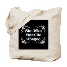 She's the Boss Tote Bag