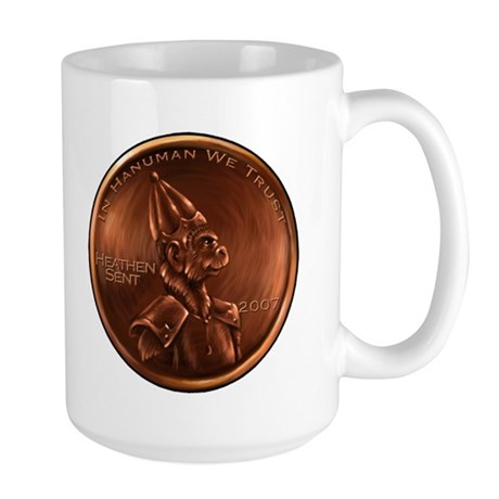 Hanuman Heathen Cent Large Mug